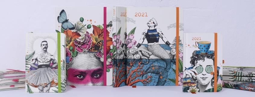 PABUKU calendars and notebooks