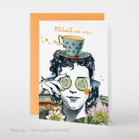 greeting card PABUKU F089_Relax