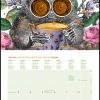 Wall Calendar small 2022